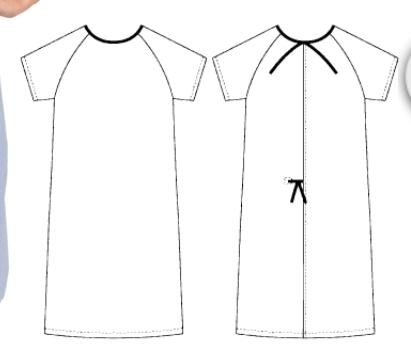 Patient's Night Gown – Unisex