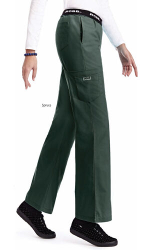 Boot Cut Flip Flap Scrub Pant