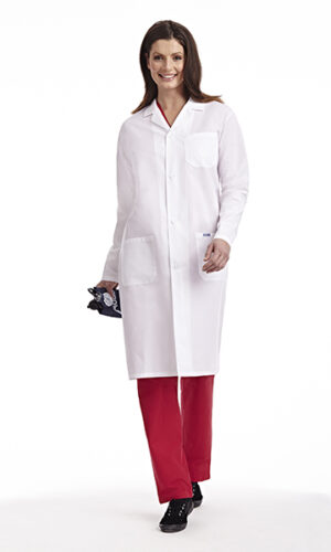 Full Length Unisex Lab Coat with Buttons