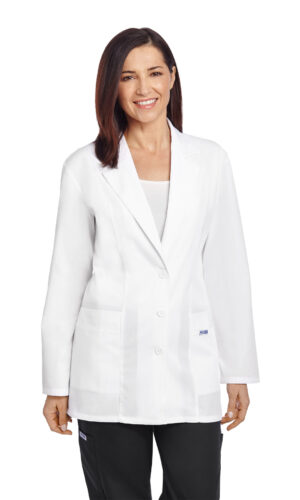 Ladies Fitted Fashion Lab Coat