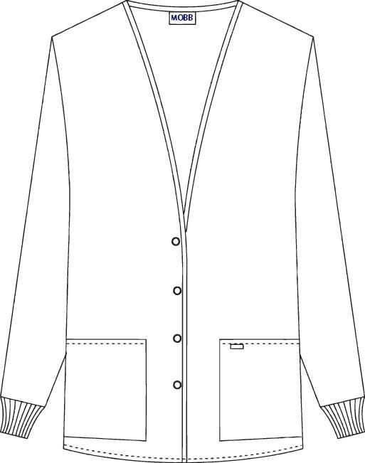 Button Front Fleece Jacket