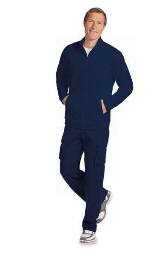 Men's Fleece Warm-up Zipper Jacket