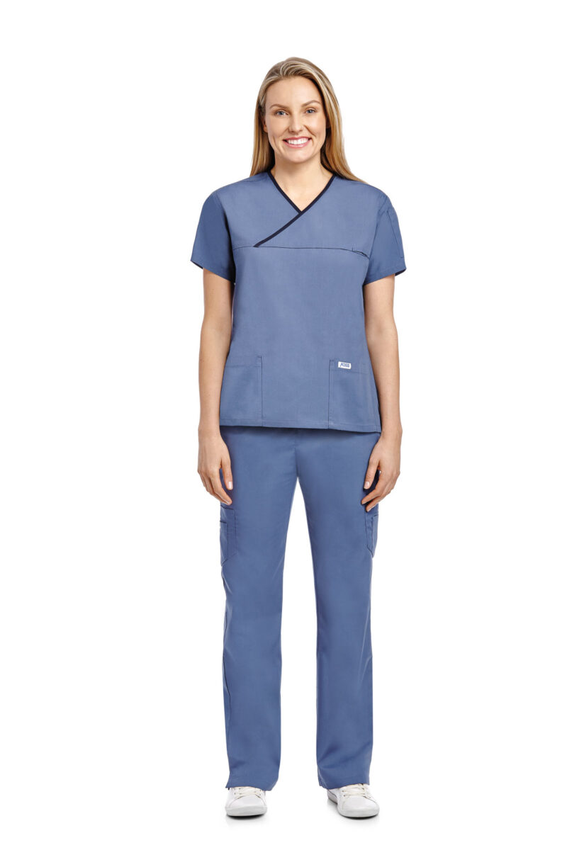 Criss Cross Flip Flap Scrub Set